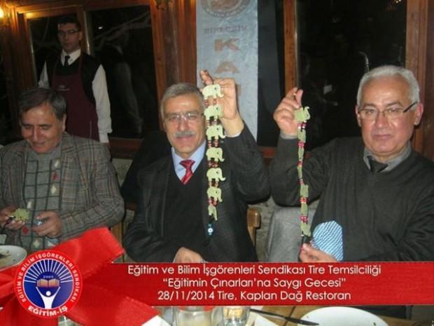 EĞİTİM-İŞ, TİRE'NİN EĞİTİM ÇINARLARINI UNUTMADI