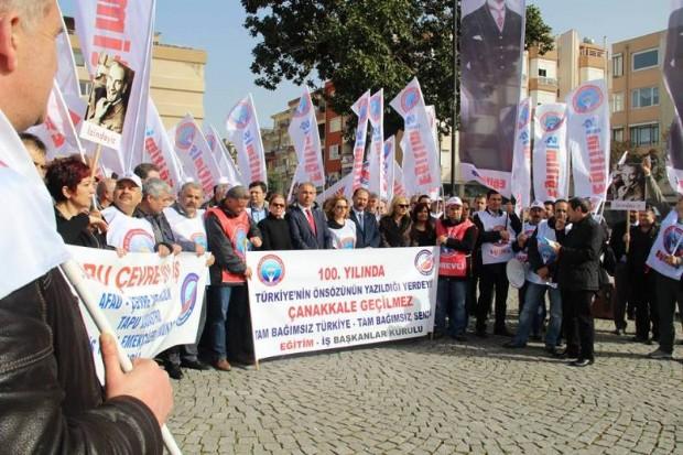 100. Yılında Tam Bağımsız Türkiye, Çanakkale Geçilmez Yürüyüşü