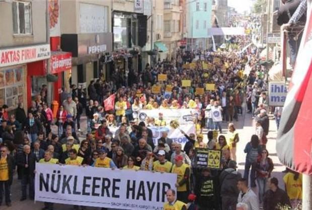 TÜM TÜRKİYE SİNOP'TAN SESLENDİ,NÜKLEERE HAYIR