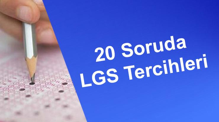20 Soruda LGS Tercihleri