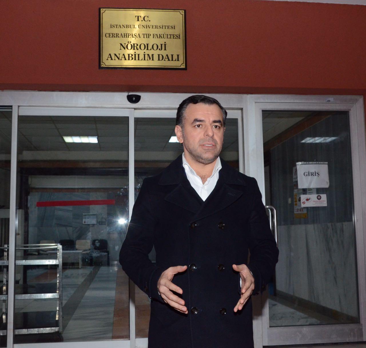 -CHP'DEN HÜSNÜ MAHALLİ'YE ZİYARET