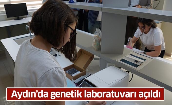 Aydın'da genetik laboratuvarı açıldı