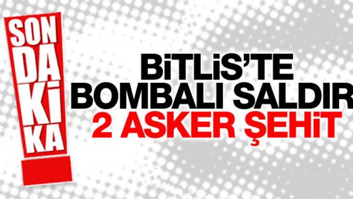 -BİTLİS'TE PKK SALDIRISI: 2 ASKER ŞEHİT,1 SİVİL AĞIR YARALI