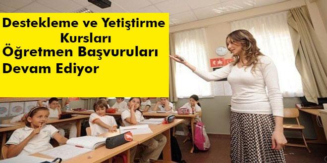 DYK Öğretmen Başvuruları Devam Ediyor