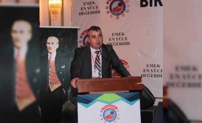 Eğitim-İş Kırşehir Şube Başkanı Akça,