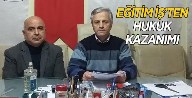EĞİTİM İŞ'TEN HUKUK KAZANIMI