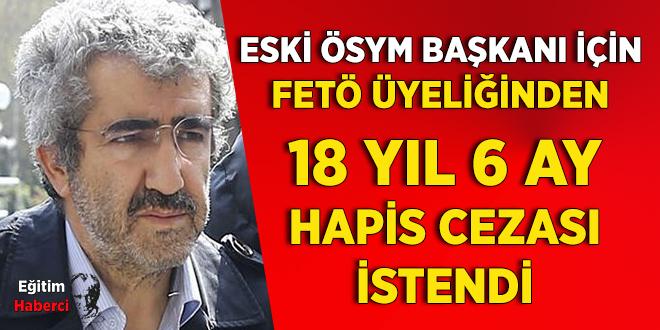 Eski ÖSYM Başkanı Ali Demir, FETÖ Üyeliğinden Yargılanacak