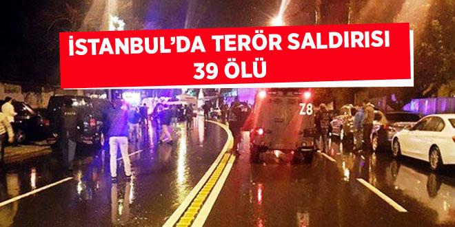 İstanbulda Terör Saldırısı