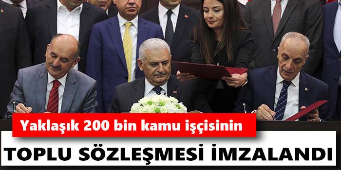 -KAMUDA TOPLU İŞ SÖZLEŞMESİ İMZALANDI