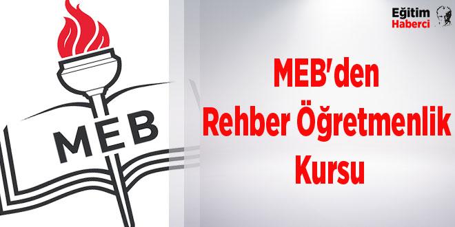 MEB'den Rehber Öğretmenlik Kursu