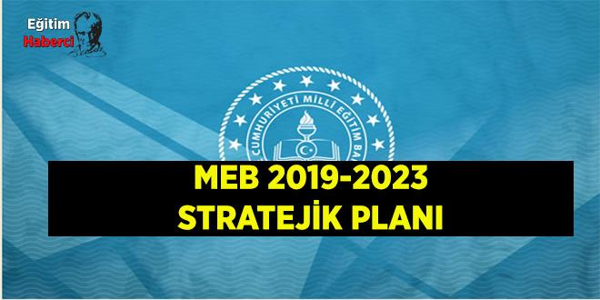 MİLLÎ EĞİTİM BAKANLIĞI 2019-2023 STRATEJİK PLANI YAYINLANDI