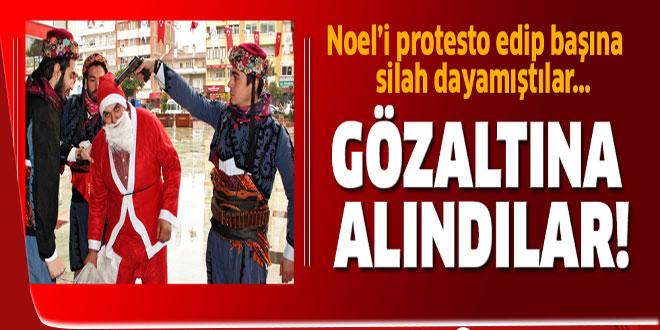 Nazilli'de 'Noel Protesto'gözaltısı!
