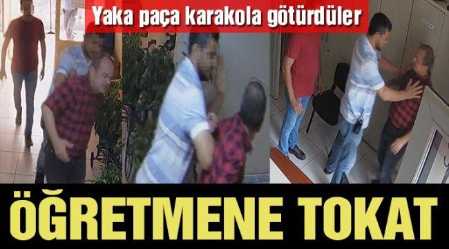 Öğretmene karakolda şiddet! Kolunu kıvırıp tokatladılar