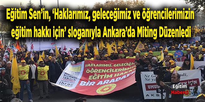 Öğretmenler Ankara'da bir araya geldi: Dayanışmayı ilmek ilmek öreceğiz