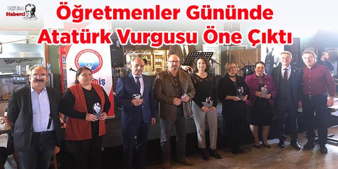 Öğretmenler Gününde Atatürk Vurgusu Öne Çıktı