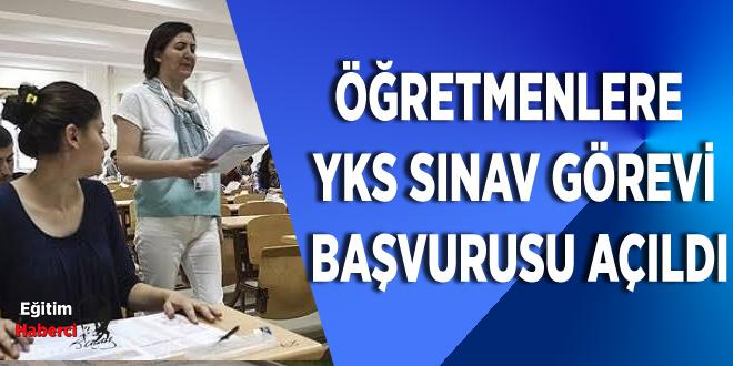 Öğretmenlere Yks Sınav Görevi Başvurusu Açıldı