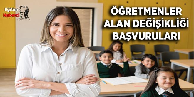 Öğretmenlerin Alan Değişikliği İşlemleri
