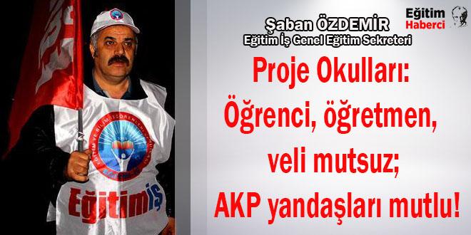 Proje Okulları: Öğrenci, öğretmen, veli mutsuz; AKP yandaşları mutlu!