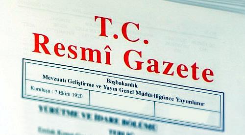 Resmi Gazete'de yayımlanan 681 sayılı KHK