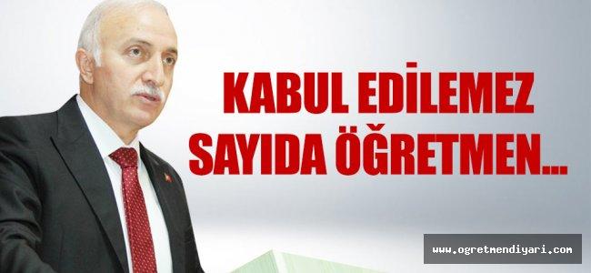 Samsun Valisi Şahin: Kabul edilemez sayıda öğretmen...