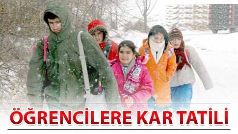 Yarın Okullar Tatil Mi? Hangi İllerde Okullara Kar Tatili Olacak? (9 Ocak Çarşamba)
