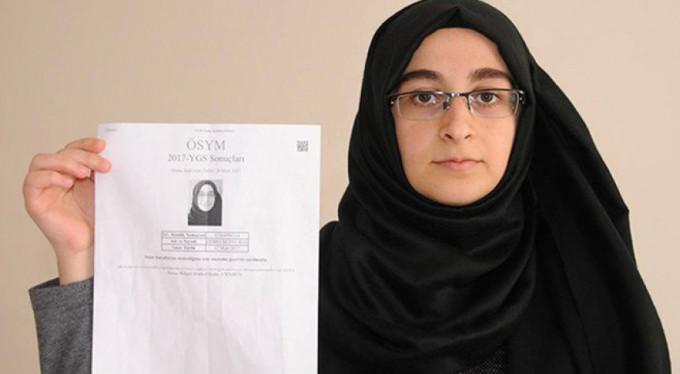 YGS'ye Astım İlacıyla Giren Genç Kızın Sınavı Kabul Edildi