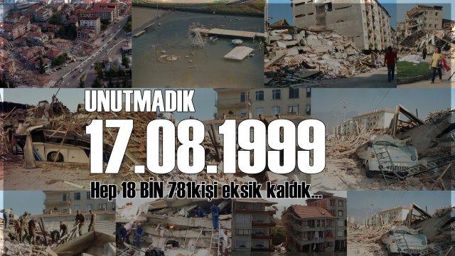 17 Ağustos Depreminin 18. Yılı
