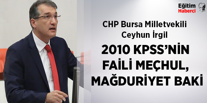 2010 KPSS'NİN FAİLİ MEÇHUL, MAĞDURİYET BAKİ