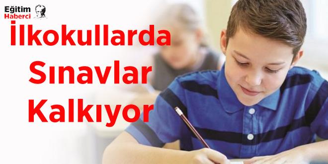 İlkokullarda Sınavlar Kalkıyor