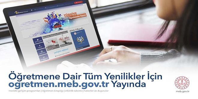 Milli Eğitim Bakanlığından Öğretmenler İçin Web Sitesi