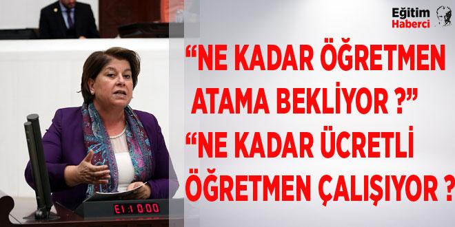 """""""NE KADAR ÖĞRETMEN ATAMA BEKLİYOR ?"""""""