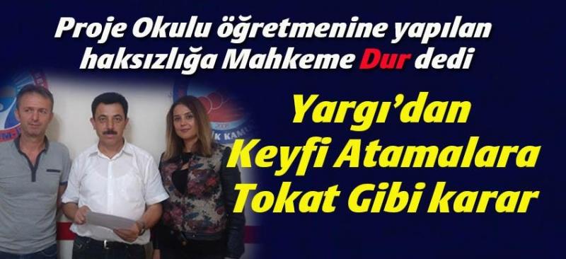 Samsun'da Proje Okullarındaki atamalara mahkeme engeli