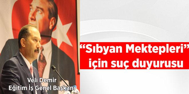 """""""Sıbyan Mektepleri"""" için suç duyurusu"""
