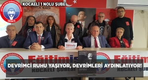 DEVRİMCİ RUHU YAŞIYOR, DEVRİMLERİ AYDINLATIYOR!