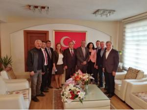 Eğitim İş'den Belediye Başkanı Bozdoğan'a Hayırlı Olsun Ziyareti
