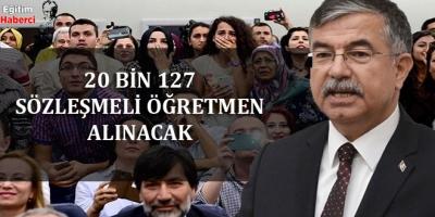 -20 BİN 127 SÖZLEŞMELİ ÖĞRETMEN ALINACAK
