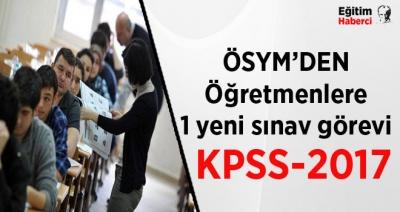 2017 KPSS'DE GÖREV ALMAK İSTEYEN ÖĞRETMENLER DİKKAT