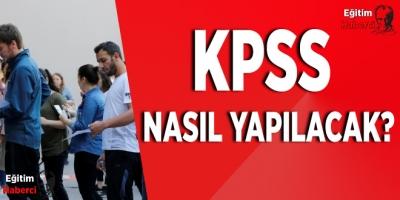 2020 KPSS nasıl yapılacak? ÖSYM Başkanı Aygün açıkladı
