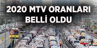 2020 MTV Fiyatları Belli Oldu