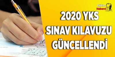 2020 YKS sınav kılavuzu güncellendi