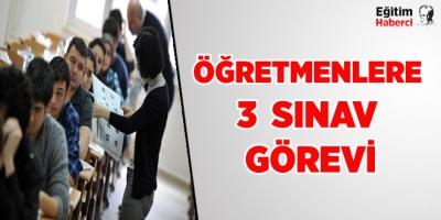 3 Yeni Sınav Görevi TIKLA-BAŞVUR