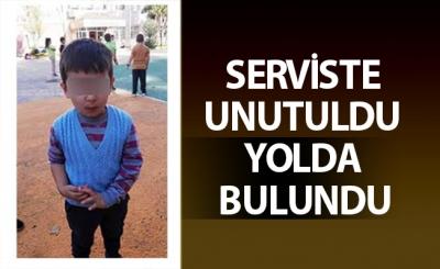 4 Yaşındaki Çocuk Servis Tarafından Unutuldu