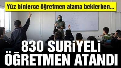 Adana'da 830 Suriyeli öğretmen atandı