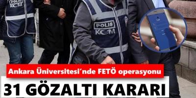 -ANKARA ÜNİVERSİTESİ'NE BYLOCK OPERASYONU