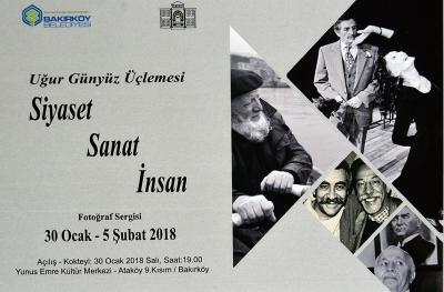 -BAKIRKÖY'DE 'SİYASET, SANAT, İNSAN' FOTOĞRAF SERGİSİ AÇILIYOR