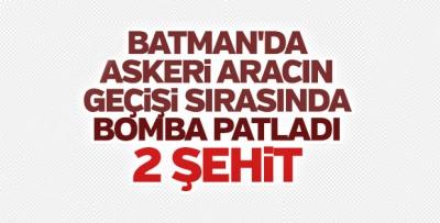 BATMAN'DA İKİ ASKER ŞEHİT OLDU