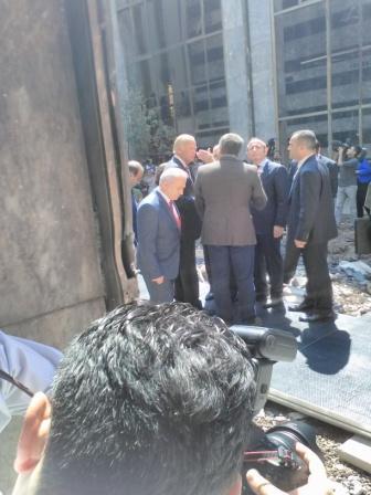 -BİDEN MECLİS'TE BOMBALANAN BÖLGEYİ ZİYARET ETTİ