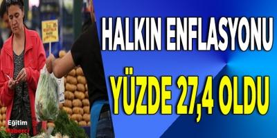 """BİRLEŞİK KAMU İŞ """"HALKIN ENFLASYONU"""" ARAŞTIRMASI  OCAK 2020"""