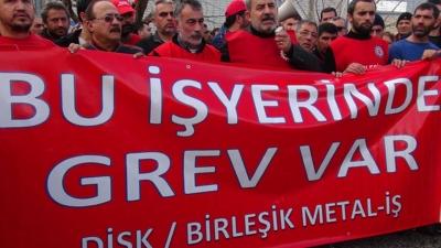 -BİRLEŞİK METAL-İŞ SENDİKASI'NDAN GREV KARARI