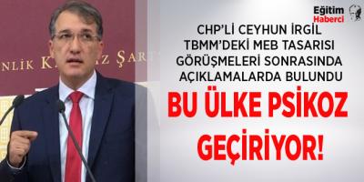 BU ÜLKE PSİKOZ GEÇİRİYOR!
